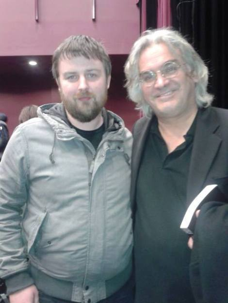 Me and Director Paul Greengrass