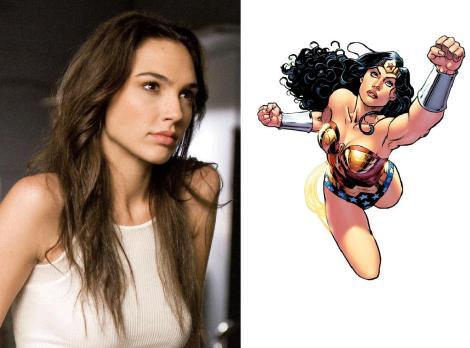 Gal Gadot is Wonder Woman in new Superman VS Batman Film