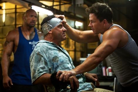 Film Review - Pain & Gain - Dwayne Johnson, Tony Shalhoub and Mark Wahlberg