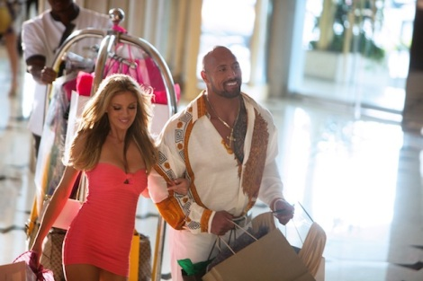 Film Review - Pain & Gain - Bar Paly and Dwayne Johnson