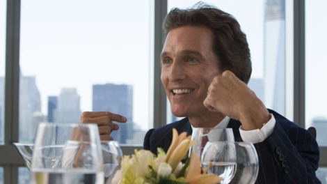 Film Review - The Wolf of Wall Street - Matthew McConaughey