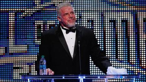 WWE - RIP Ultimate Warrior - Here At Hall of Fame Ceremony