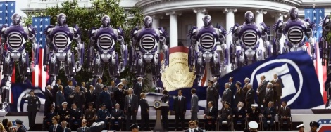 Film Review - X-Men Days of Future Past - Sentinels