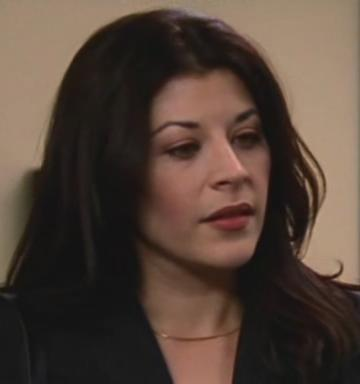 TV Flashback - The Shield - Supporting Characters - Aurora Aceveda Played By Camillia Sanes Monet