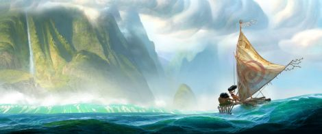 Film News - The Little Mermaid and Aladdin Directors Teaming Up to Direct Disney's Moana Concept Art