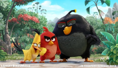 Film News - First Image Released For Upcoming Angry Birds Film