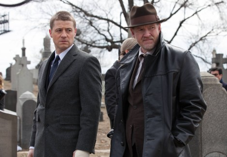 TV Rambling - First Impressions - Gotham - Jim Gordon and Harvey Bullock
