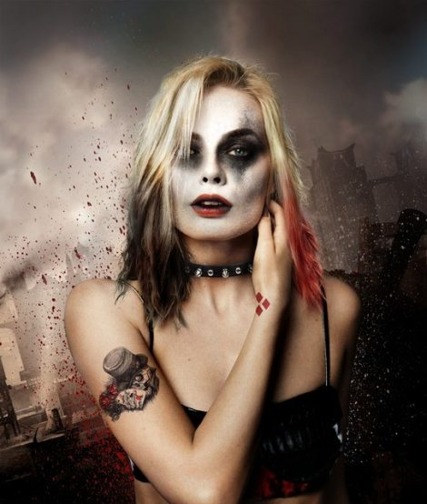 Film News - Margot Robbie Possibly Playing Harley Quinn In Suicide Squad - Fanart