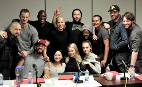 Film News - David Ayer Reveals First Cast Photo of The Suicide Squad
