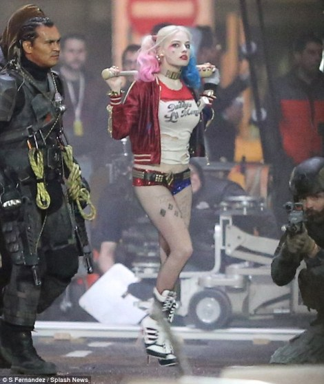 Film News - Suicide Squad - Margot Robbie as Harley Quinn