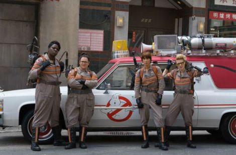 Film News - First Official Photo Release Of The Cast of Ghostbusters