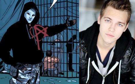 TV News - Arrow - Alexander Calvert Cast As Anarky