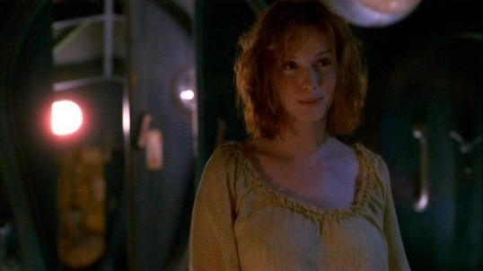 TV Flashbacks - Firefly - Recurring Characters + Before They Were Famous Faces - Christina Hendricks as Saffron