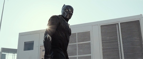 Film News - Captain America Civil War - Chadwick Boseman as Black Panther