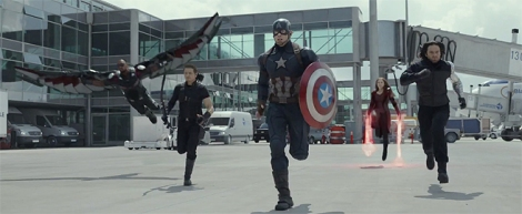 Film News - Captain America Civil War - Team Cap