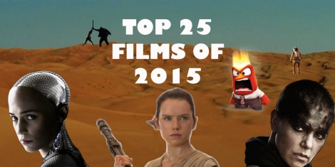 Top 25 Films of 2015 Header