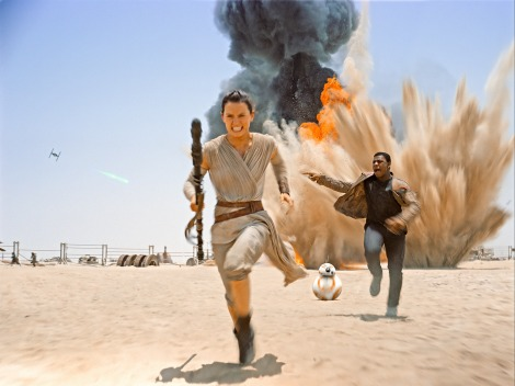 Top 25 Films of 2015 - Star Wars The Force Awakens