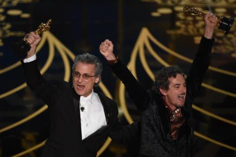 Film News - Oscars 2016 - Mark Mangini and David White win Oscars for Best Sound Editing on Mad Max Fury Road
