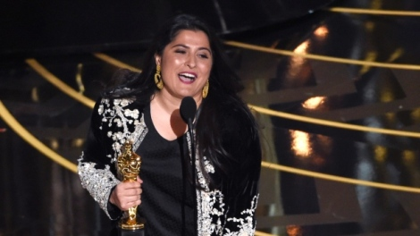 Film News - Oscars 2016 - Sharmeen Obaid-Chinoy with Oscar Win For Best Documentary Short A Girl In The River The Price Of Forgiveness