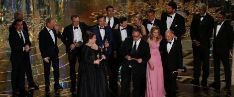 Film News - Oscars 2016 - Spotlight Wins Best Picture