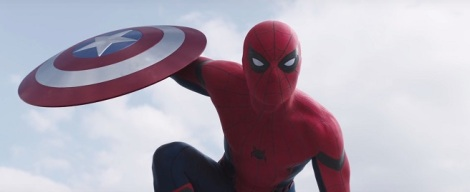 Film News - Captain America Civil War - Latest Trailer Reveals First Look At Spider-Man