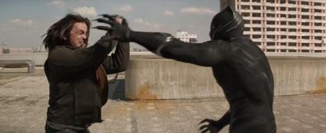 Film News - Captain America Civil War - Winter Soldier vs Black Panther in Second Trailer