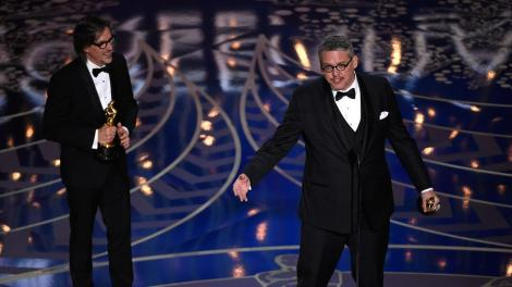 Film News - Oscars 2016 - Adam McKay and Charles Randolph win Oscar with The Big Short for Best Adapted Screenplay