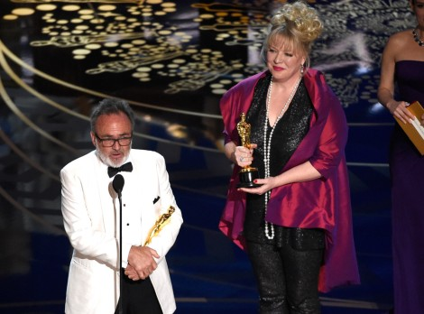 Film News - Oscars 2016 - Colin Gibson and Lisa Thompson win Oscar for Best Production Design with Mad Max Fury Road