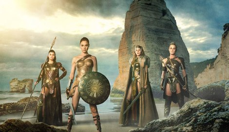 Film News - Wonder Woman - First Look at Queen Hippolyta, General Antiope and Menalippe alongside Wonder Woman