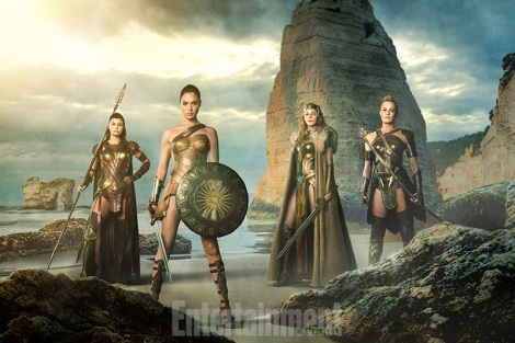 Film News - Wonder Woman - First Look at Themyscira and the Amazons