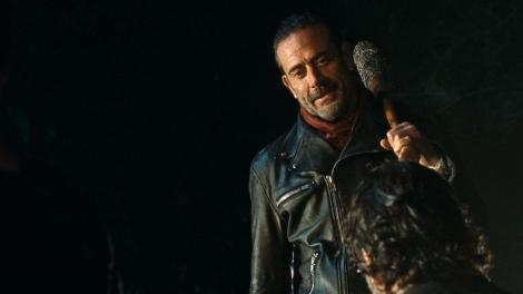 TV News - The Walking Dead - Thoughts On The Conclusion Of THAT Final Scene In The Season 6 Finale - Negan with Lucille