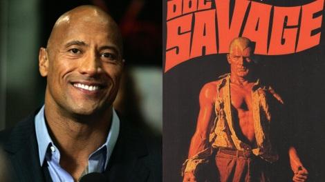 Film News - Doc Savage - Dwayne Johnson To Play Lead Role