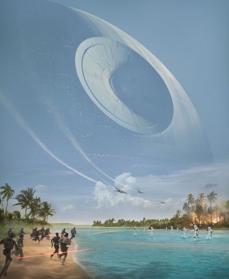 Film News - Rogue One - New Poster And BTS Sizzle Reel Revealed At Star Wars Celebration