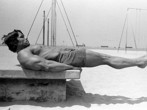 TV News - Arnold Schwarzenegger To Producer Series Inspired By His Venice Beach Gym Days