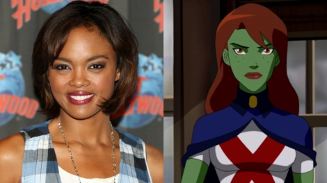 TV News - Supergirl - Sharon Leal Cast As Miss Martian