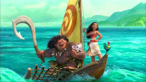 Film News - Moana - Official Trailer Drops Online