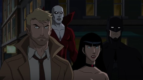 Film Review of DC Animated Film Justice League Dark