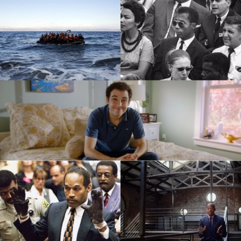 Oscars 2017 - Best Documentary - Fire At Sea, I Am Not Your Negro, Life Animated, OJ: Made In America and 13th