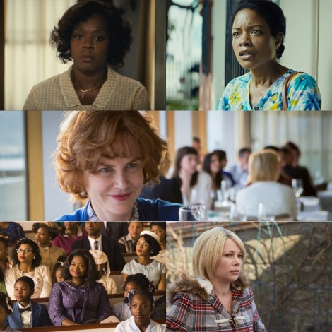 Oscars 2017 - Best Supporting Actress - Viola Davis (Fences), Naomie Harris (Moonlight), Nicole Kidman (Lion), Octavia Spencer (Hidden Figures) and Michelle Williams (Manchester By The Sea)