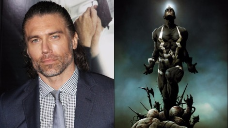 TV News - Inhumans - Anson Mount Cast As Black Bolt For ABC's Marvel Series