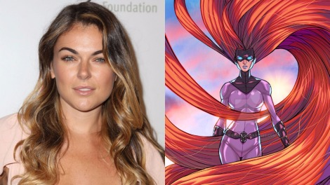 TV News - Inhumans - Serinda Swan Cast As Medusa For ABC's Marvel Series
