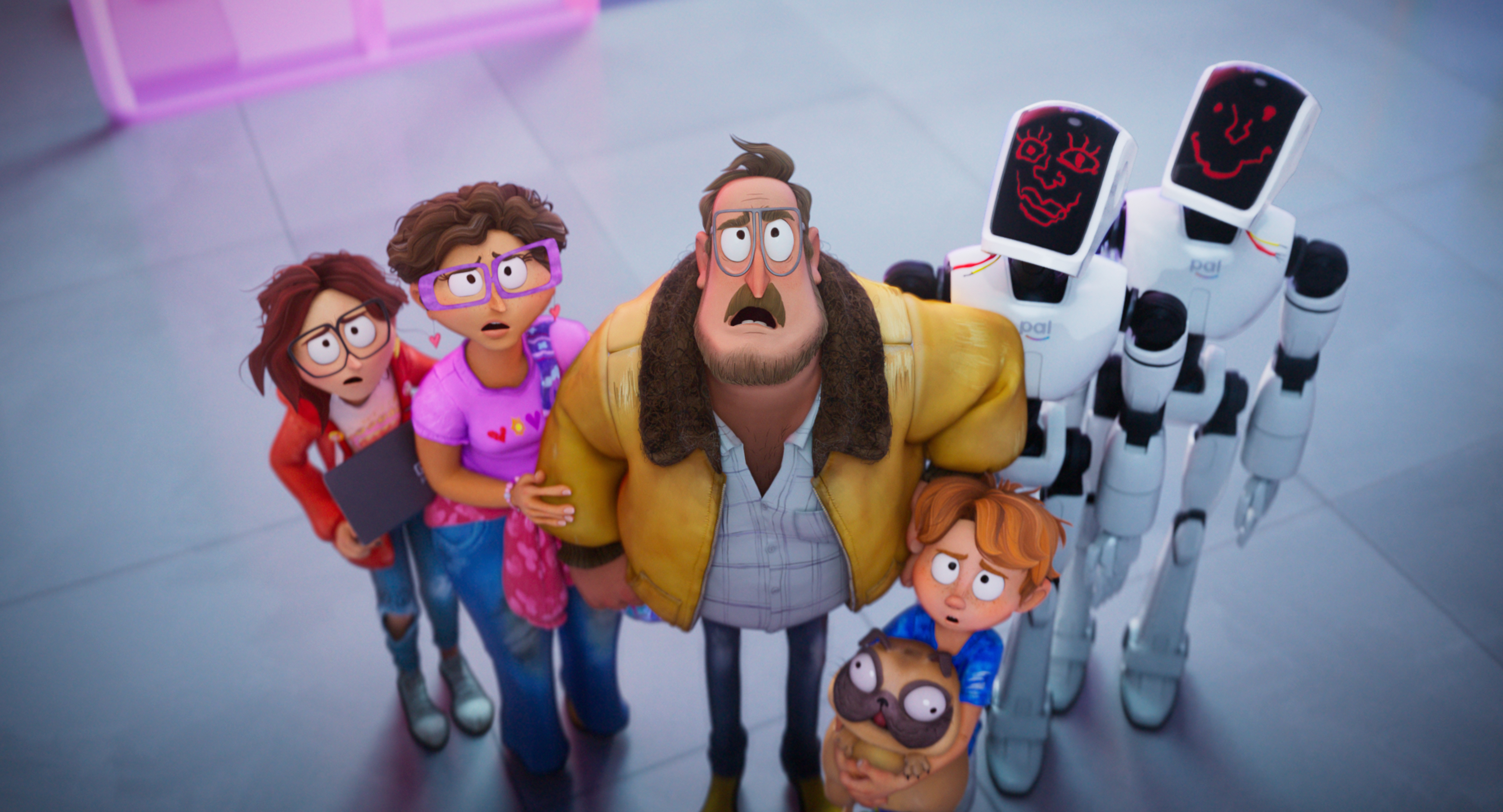 Netflix have released the official trailer for the upcoming animated sci-fi comedy The Mitchells vs. The Machines