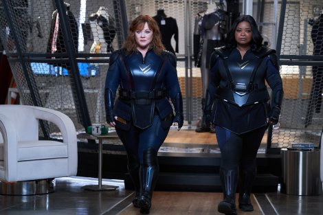 Netflix have released the official trailer for the upcoming superhero comedy film Thunder Force.
