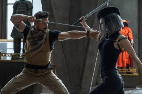Film Review of Boss Level starring Frank Grillo as Roy and Selina Lo as Guan Yin