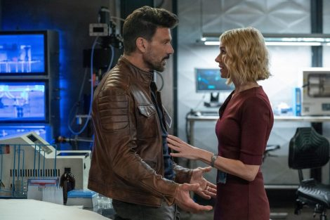 Film Review of Boss Level starring Frank Grillo as Roy Pulver and Naomi Watts as Jemma Wells