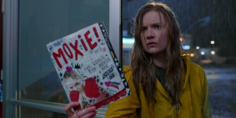 Film Review of Moxie which stars Hadley Robinson as Vivian Carter