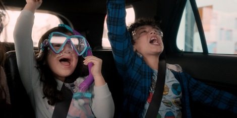 Film Review of Yes Day starring Everly Carganilla as Ellie Torres and Julian Lerner as Nando Torres