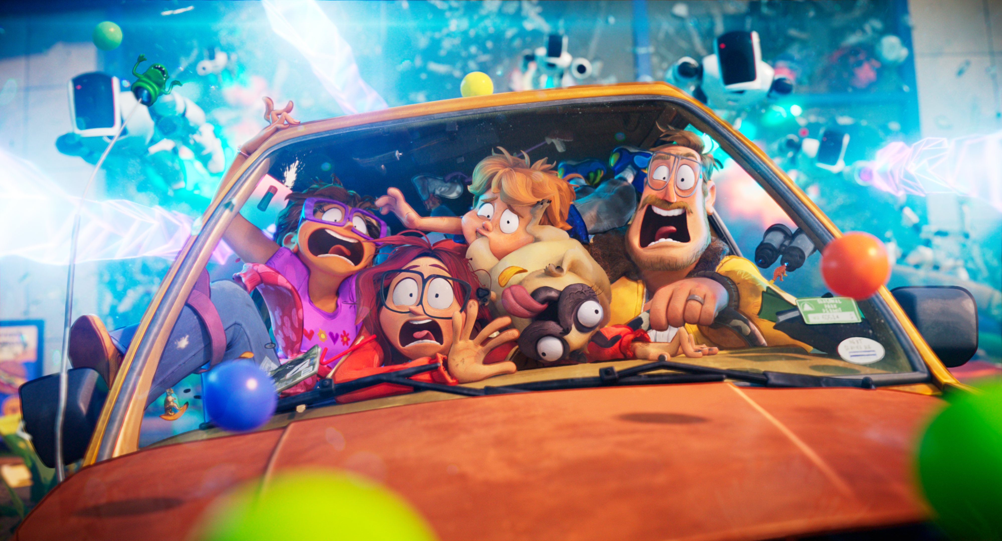 Film Review of The Mitchells vs The Machines starring Abbi Jacobson, Danny McBride, Maya Rudolph, Mike Rianda, Eric Andre and Olivia Colman