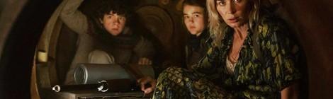 Film Revew - A Quiet Place Part 2 - Noah Jupe, Millicent Simmonds and Emily Blunt as the Abbott's