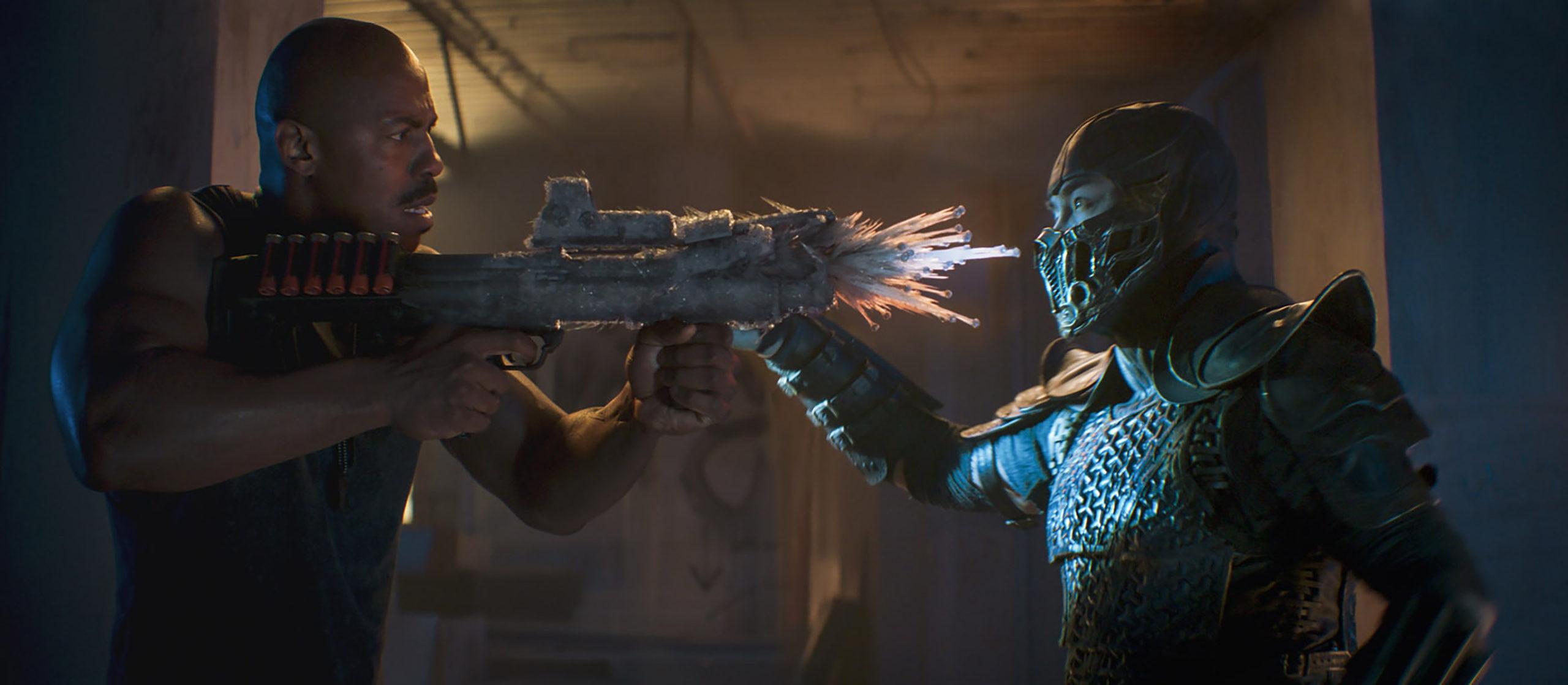 Film Review of Mortal Kombat starring Mehcad Brooks as Jax and Joe Taslim as Sub-Zero